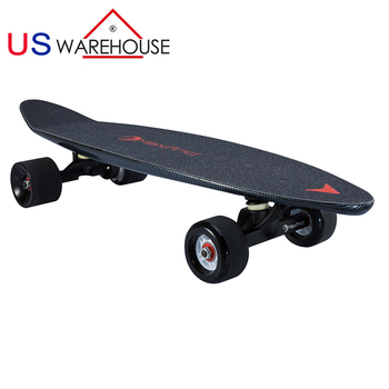 Electric Land Street Surf Electric Fish Board Skateboard Single Motor 400W  27inch free shipping