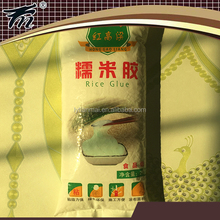 High stickiness adhesive wallpaper whch can replace potato powder