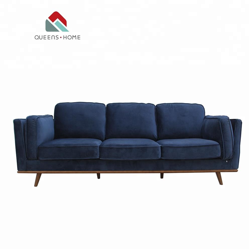 Queenshome Foshan Furniture House Modern Home Furnishings Sofa Za