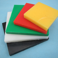 Low Frictional Coefficient and High Melting Point UHMWPE Pad for sale