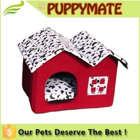 Hot sale Dog Stuffed House/ Pet Practical Products / Super Soft Pet House with a Door
