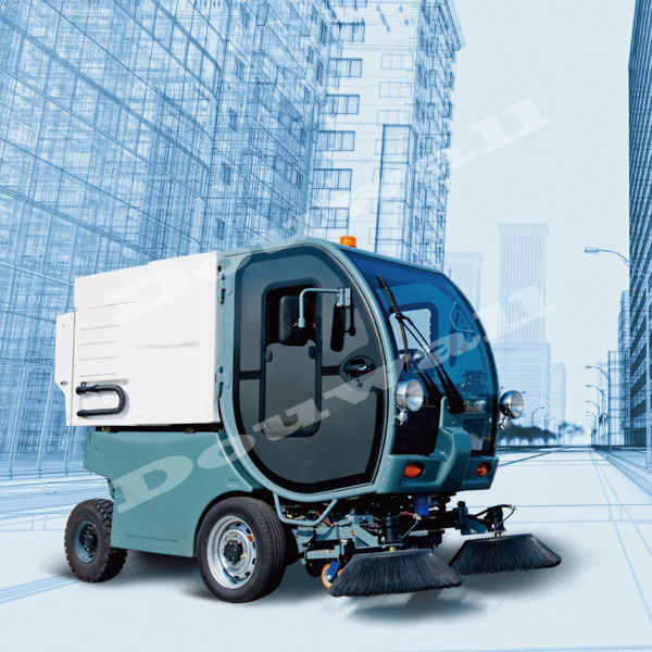 electric street road sweeper machine with low price
