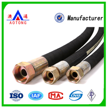 SAE 100R Hose High Pressure Hydraulic Rubber Hose for Oil /Air/Water Delivery