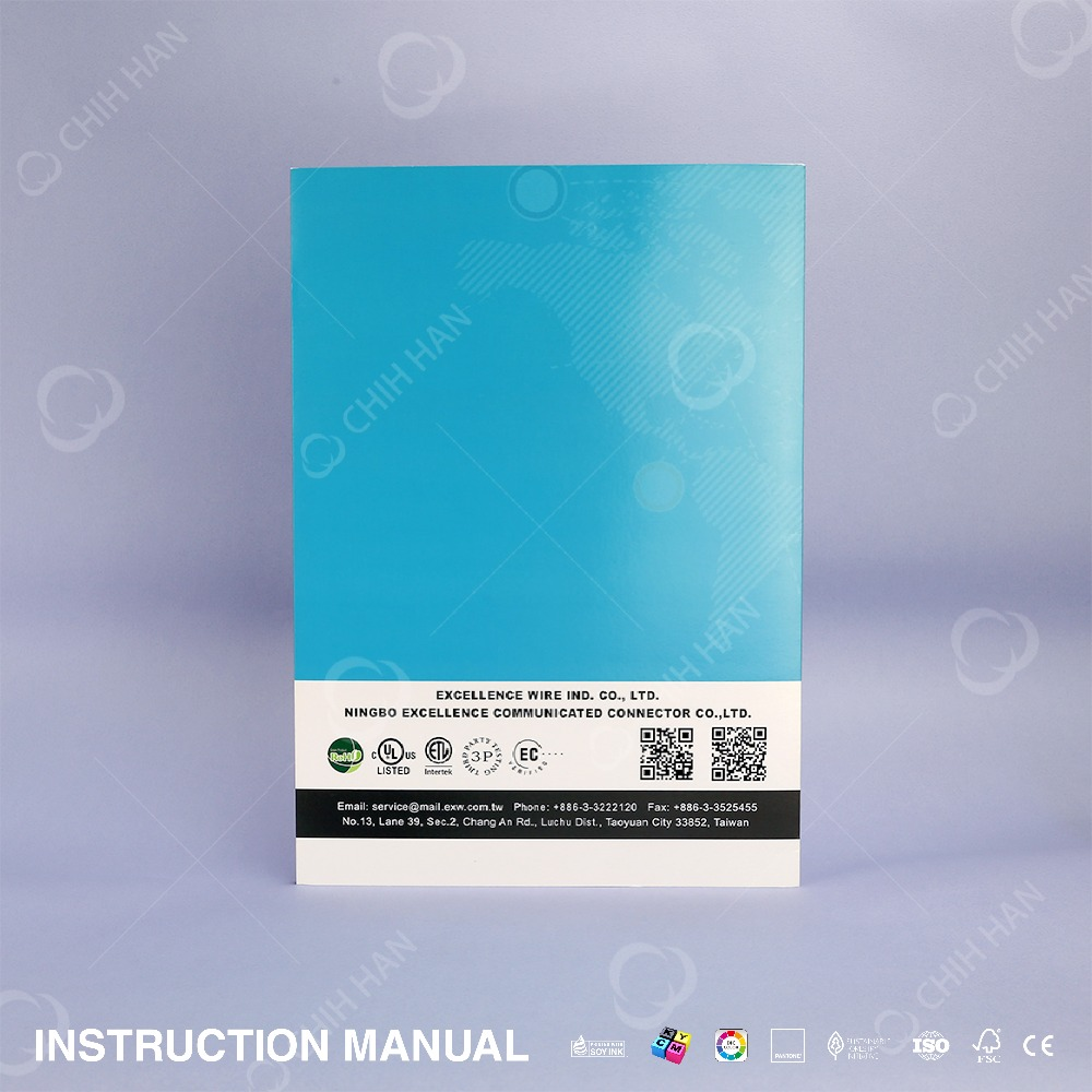 Free Design Best Quality Custom Print Pantone Color Book