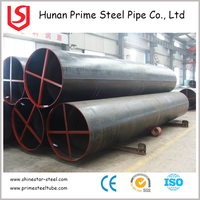 China new premium lsaw welded steel pipe API 5L x52 gb standard