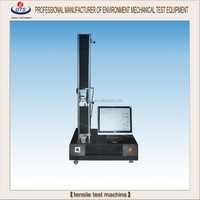 Spring Polymeric plastic textile universal tensile testing machine / tension compression tester