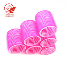 STOCK hook and loop plastic hair rollers