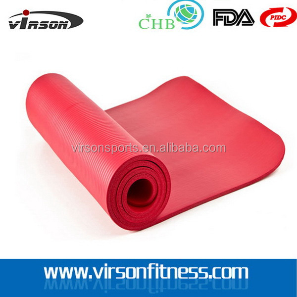 Ningbo Virson New Cheapest design high wear resistance nbr yoga mat