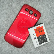 Galaxy S3 Battery Extender With Cover For Samsung Galaxy S3 i9300 Battery 3600mAh