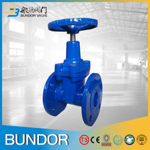 100mm resilient seat ductile iron gate valve pictures