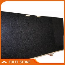 High quality polished labrador black pearl granite slab