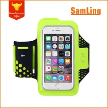 Outdoor Fashion Design Lycra Reflective Arm Band for Mobile Phone