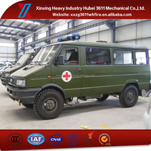 High Quality Factory Price New Manual Emergency Rescue Classical Ambulance Car