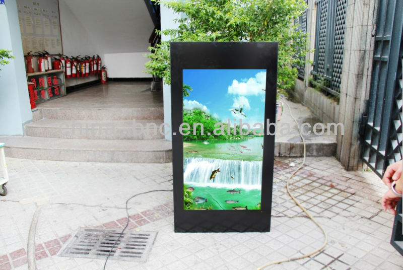 46 inch vertical wifi LCD advertising display monitor with waterproof IP65