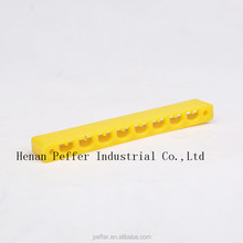 Peffer bees feeding tool plastic yellow oblong shape bee door