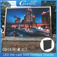 Hd Outdoor Full Color Ali Led Display Full Sexy Videos for advertising