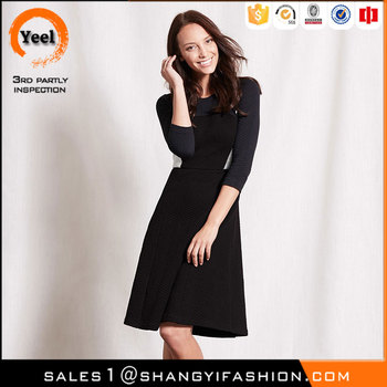 YEEL china garment factory elegance Washable Lining 100% polyester latest dress designs pictures
