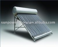 Sun power solar water heater sus304