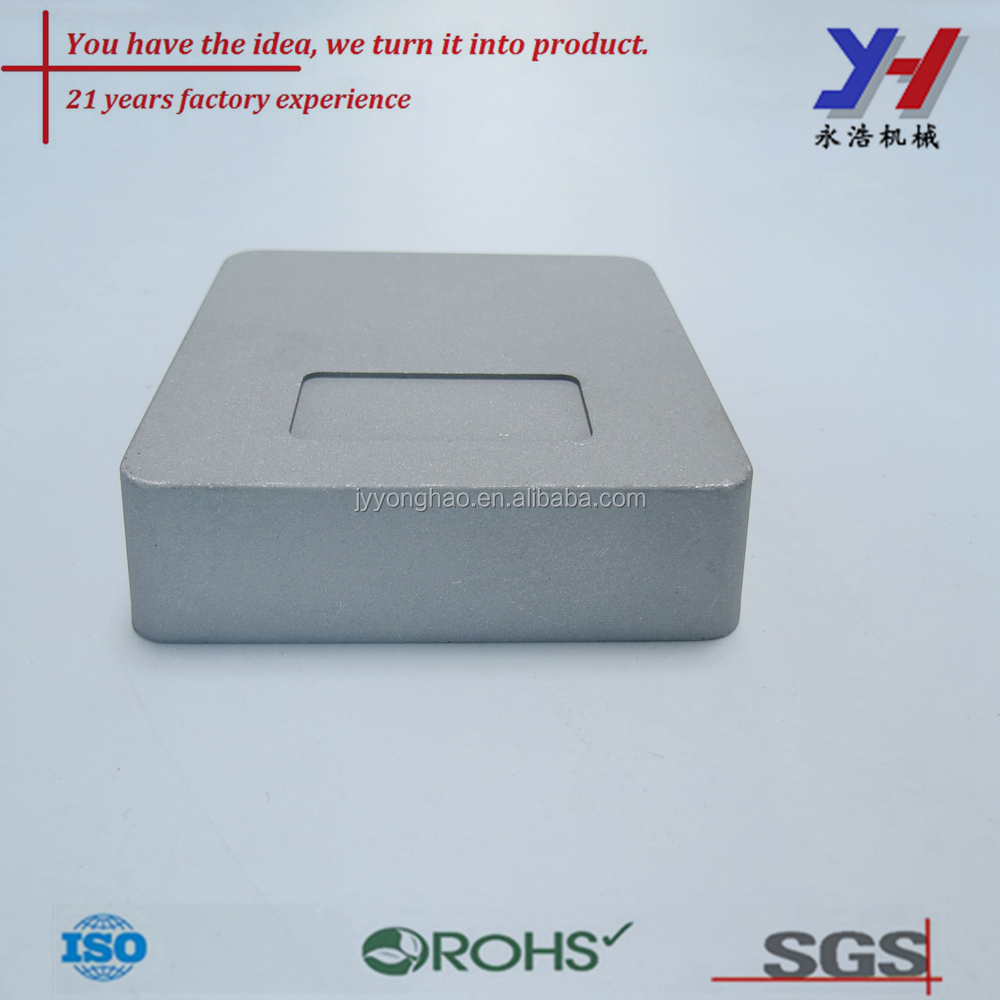 OEM ODM customized China made precision die casting aluminum meter box