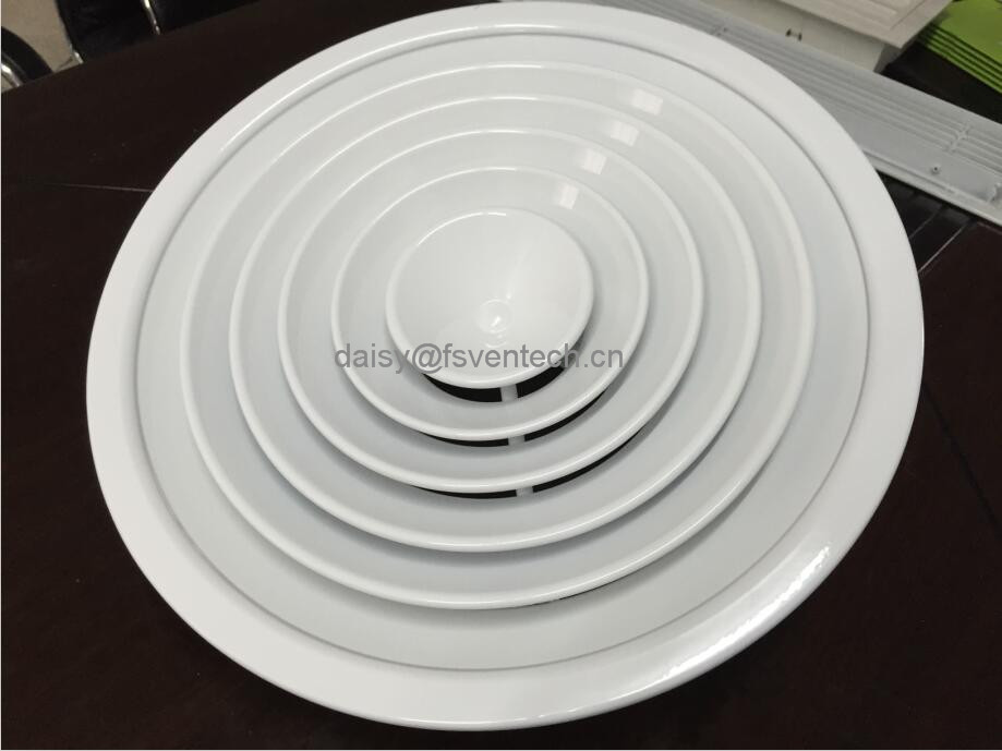 aluminum round air diffuser ventilation grille door