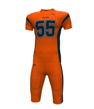 Best Quality Sublimated Design Custom Team American Football Uniform