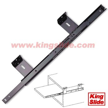 3 / 4 Extension Ball Bearing Slide-Under Shelf Or Under Counter Slide