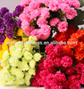 27cm silk carnation flower bouquet artificial carnation for Mother's Day