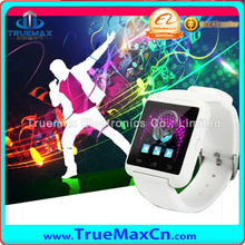Large In Stock CE RoHS Approved Bluetooth Watch U8, Sport Smart Watch Wrist U8 for IOS Android
