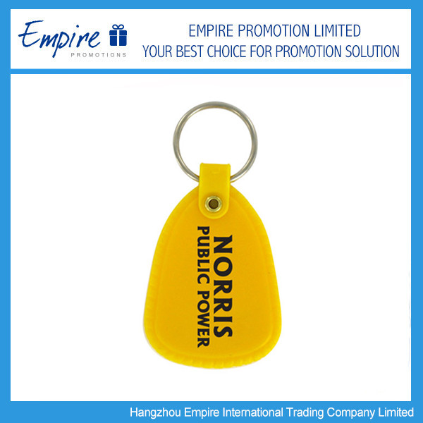 Top Quality Plastic Label Promotional Car Key Tag