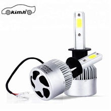 Top quality Vehicles Parts 72W 8000LM ba20d led headlight 12v