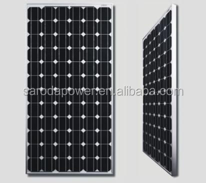 SARODA solar photovoltaic mono 200w crystalline silicon solar panels for home and commercial use