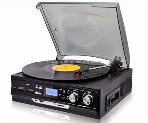 Alibaba Best Selling Muiltifuctional vinyl record player, vinyl record dj, turntable technics wholesale