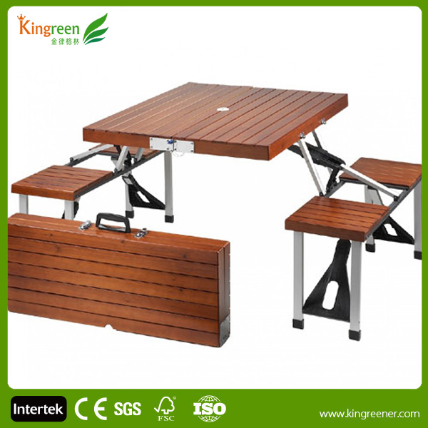 Kingreen Leisure Useful WPC Wooden Restaurant Furniture