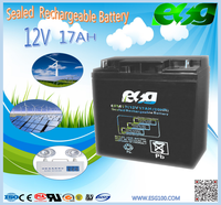 first power battery 12v 17ah solar energy storage battery for hybrid power system