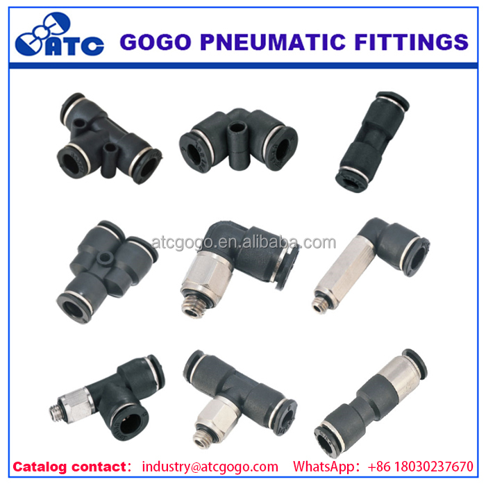 customize high quality pneumatic pvc gi pipe fitting names and parts