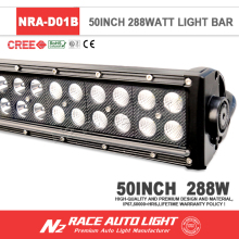 LED bar high quality 50'' dual row led light bar 4wd offroad led light 288w