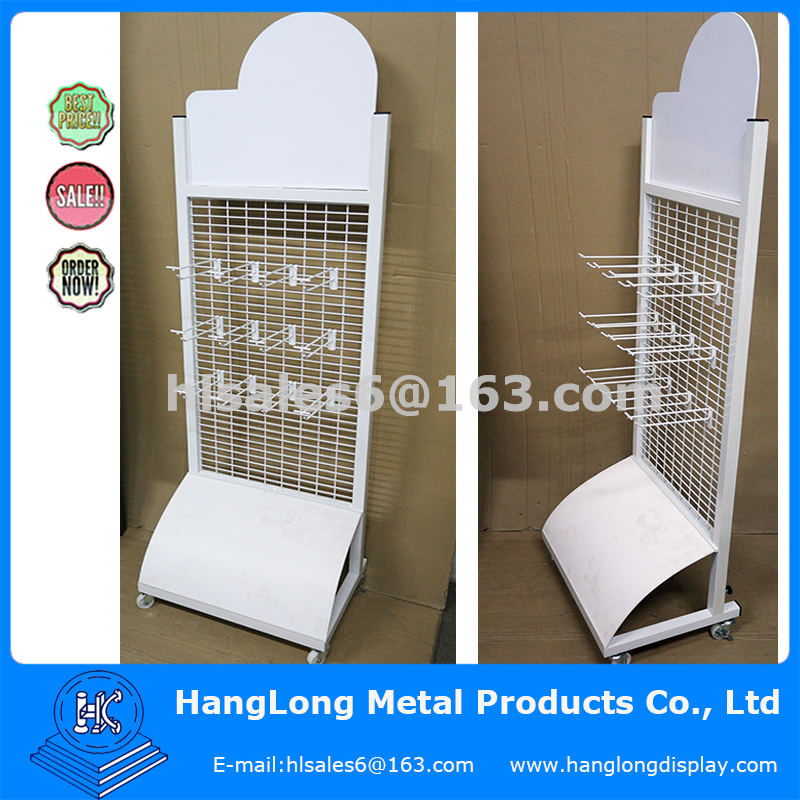 Metal wire rack gloves display stand
