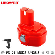 Libower Wholesale OEM 14.4V ni-mh skillful manufacture Rechargeable Power Tools Battery for Makitas 1422 1435 192699-A