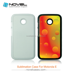 Custom Design Sublimation Cell Phone Cover for Moto E