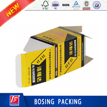 Custom Full Colour Portable Air Filters Paper Packaging Box/Auto Spare Parts accessaries packaging