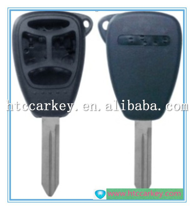 for Chrysler key 3+1 Button car Remote Key Shell key blanks wholesale