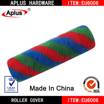colorfull paint roller lint free paint roller
