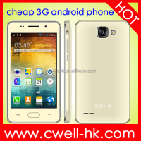 H-Mobile A5 WCDMA 3G Lowest Price China Android Phone 4.0 Inch Dual SIM Card WiFi GPS