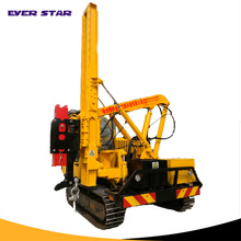Construction Equipment Screw Piling Hydraulic Solar Pile Driver