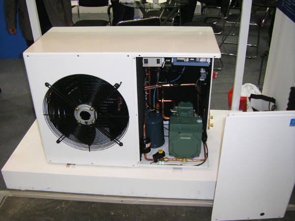 R404a Tecumseh condensing unit for cold room storage