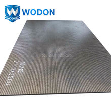 chromium carbide overlay wear resistant steel plate