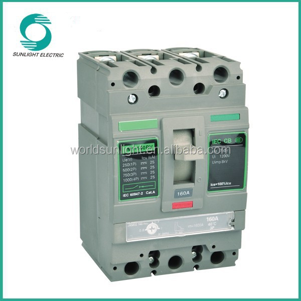 100amp to 1000amp moulded case circuit breaker mccb