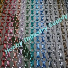 colors aluminum chain hanging building curtain wall covering