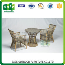 Modern leisure bamboo look apartment patio furniture -BELEN