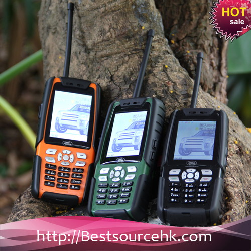 Cheapest Land rovel L8 IP67 rugged mobile phone special for ptt tv mobile phone
